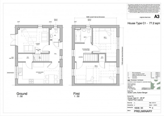 Stonewater HTC1 Floor Plans