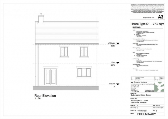Stonewater HTC1 Elevations